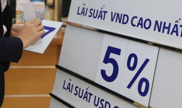 Lãi suất cho vay hiện tại của các ngân hàng